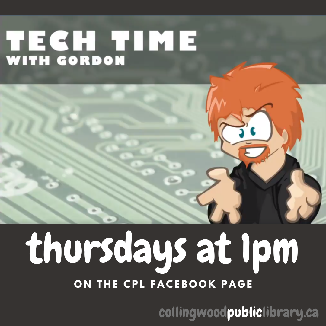 tech time with Gordon